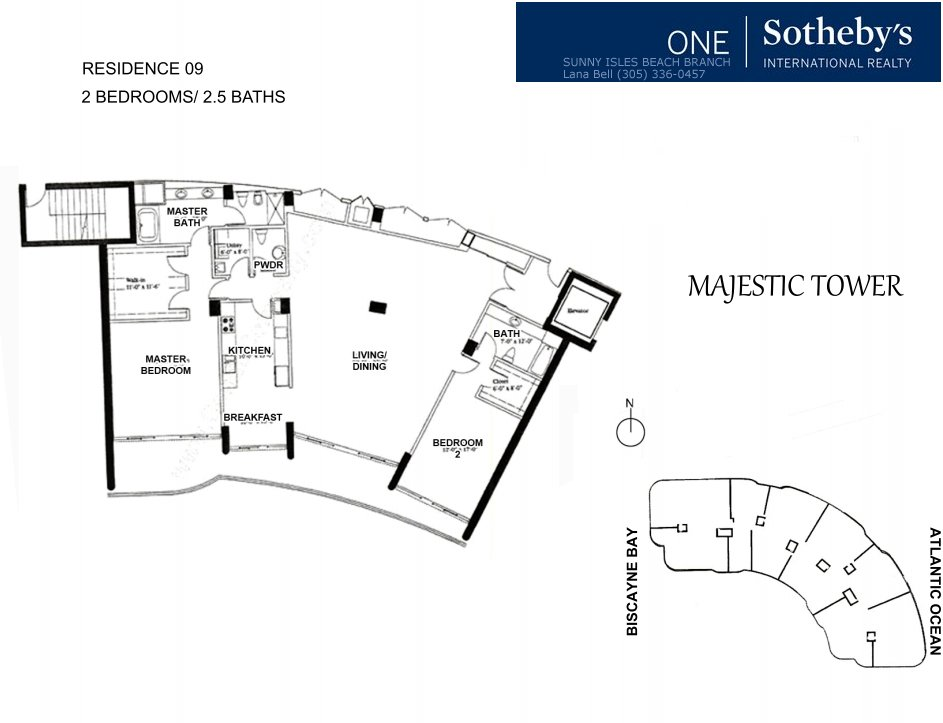 Majestic Bal Harbour Floor Plan 9