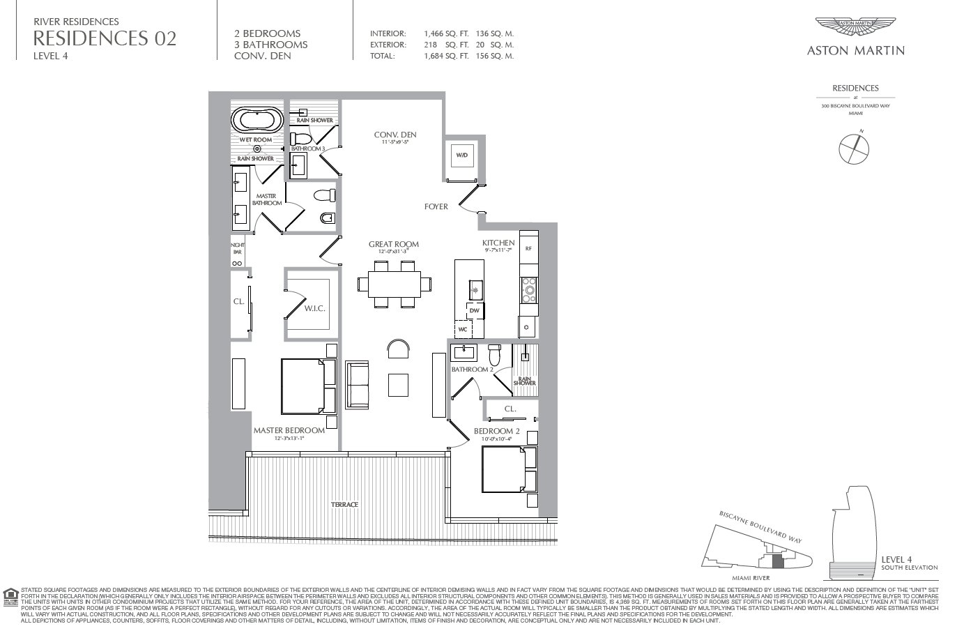 Aston Martin Residences Floor Plan 02