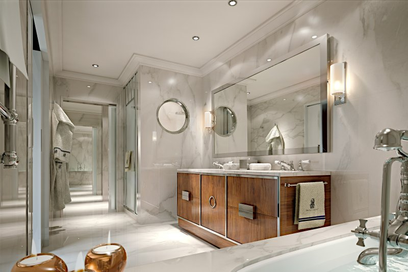 Ritz Carlton Sunny Isles Master Bathroom